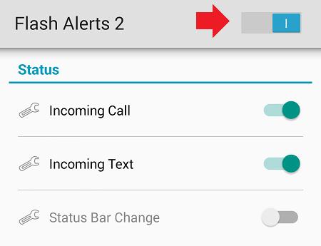 Как сделать чтоб айфон моргал вспышкой при звонке