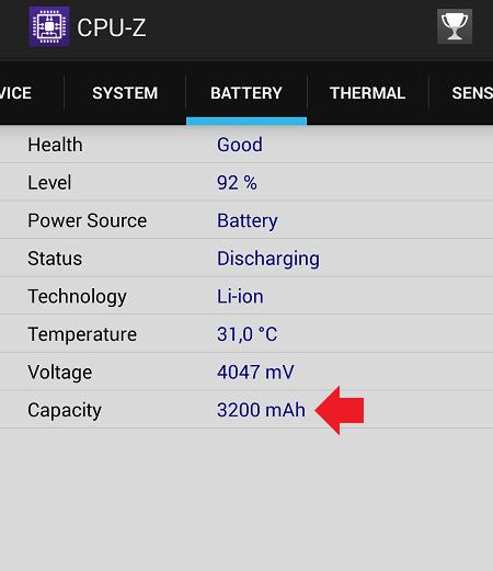 Как узнать реальную емкость батареи