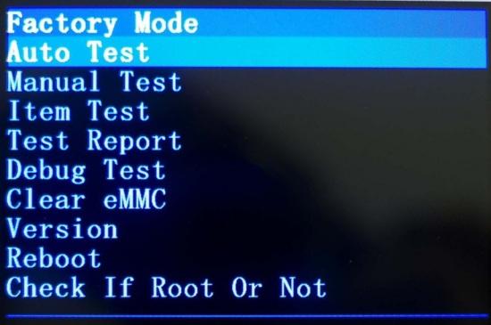 Как сделать factory mode 18