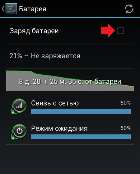 Андроид как сделать заряд батареи в процентах на 328